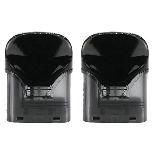 Uwell Crown Pod Cartridge (1,0 Ohm), Riccardo Ersatzkartusche 3 ml mit MTL Verdampferkopf für e-Zigarette, 2 Stück