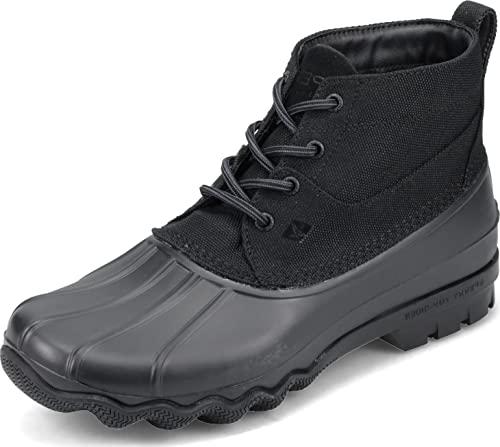 Sperry Men's, Brewster Low Duck Boot Ballistic Black 10.5 M