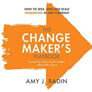 The Change Maker's Playbook audiobook cover art