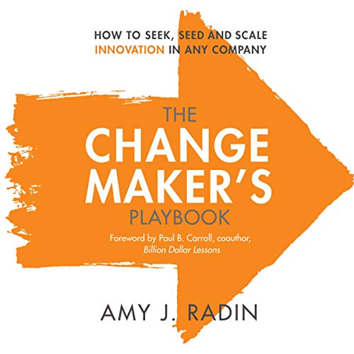 The Change Maker's Playbook cover art