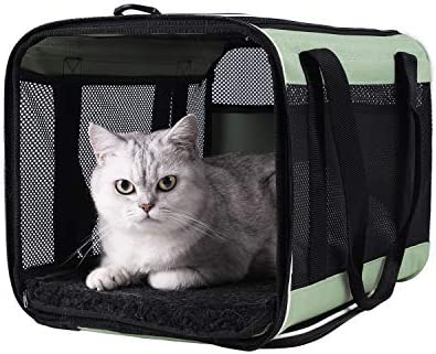 Top Load Pet Carrier for Large Medium Cats 2 Cats and Small Dogs with Comfy Bed Easy to Get product image