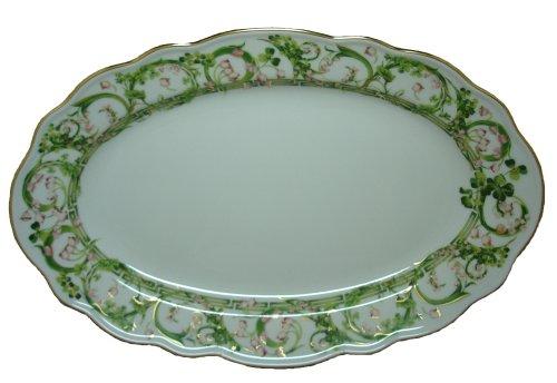 Versace by Rosenthal Flower Fantasy 15-Inch Oval Serving Platter