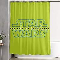 スター・ウォーズ Star Wars シャワーカーテン 防水 防カビ加工 バス用品 目隠し リング付き取り付け簡単 防水 間仕切り 浴室 お風呂カーテン