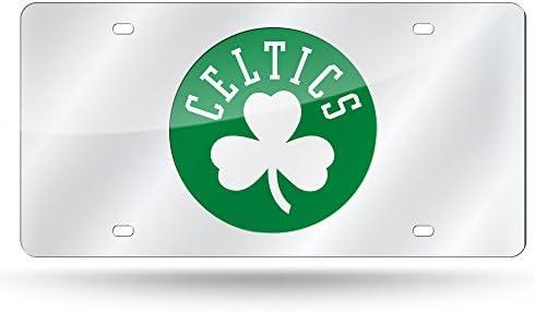 Nba Rico Industries Laser Inlaid Metal License Plate Tag Boston Celtics Sport Freizeit