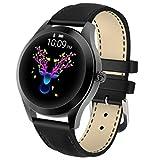 AUBERSIT Fitness Tracker, Bluetooth Montre Intelligente pour Femmes Fille Sport Surveillance de la...