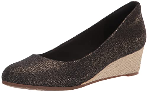 Clarks Mallory Luna Closed Wedge, Plate-Forme Femme,...
