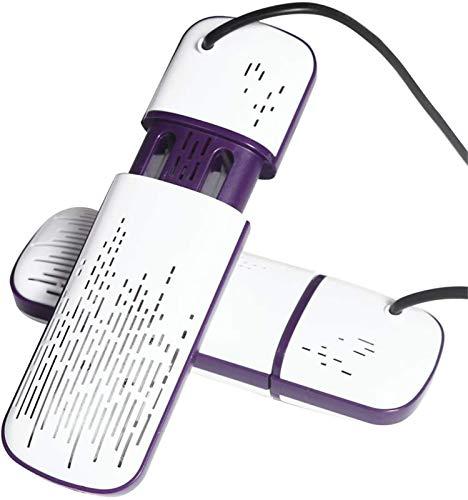 Secador de zapatos eléctricos portátiles Mini secador de zapatos portátil, temporizador multifunción...