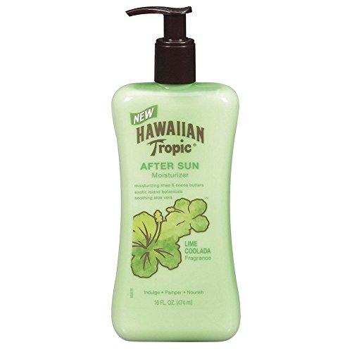 Hawaiian Tropic Lime Coolada After Sun Moisturizer 16 oz