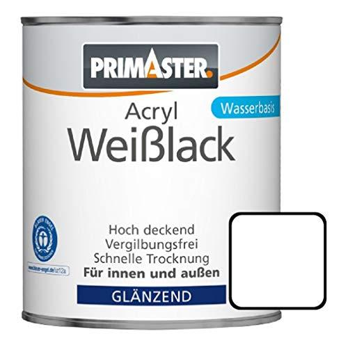 Primaster Acryl Weißlack