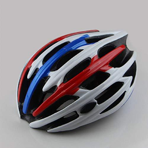 hqpaper - Casco de ciclismo profesional para adulto en carretera monobloque de...