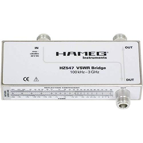 Rohde & Schwarz HZ547 VSWR-Messbrücke für Spektrumanalysatoren, 100 kHz bis 3 GHz