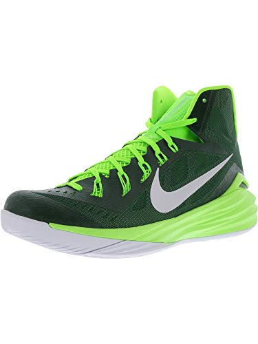Nike Mens 2014 Hyperdunk Basketball Shoes, For/Wht, SZ 14