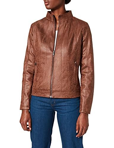 Desigual Womens CHAQ_COMARUGA Jacket, Brown, 36