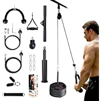 BZK 3 in 1 Fitness LAT and Lift Pulley System Gym