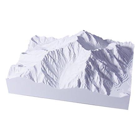 青島文化教材社 スカイネット 1/50000スケール 精密山岳模型 やまなみ 北アルプスシリーズ No.02 穂高岳 明神岳 プラスチック完成品
