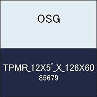 OSG テーパーエンドミル TPMR_12X5゚_X_126X60 商品番号 85679