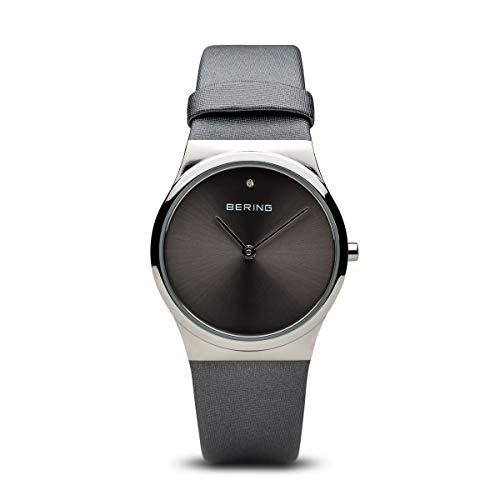BERING Damen-Armbanduhr Analog Quarz Leder 12130-609