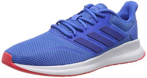 Adidas Falcon Zapatillas de Running Hombre, Azul (True BlueCollegiate RoyalShock Red True BlueCollegiate RoyalShock Red), 44 EU