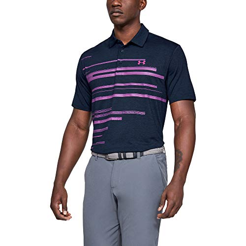 Under Armour Playoff 2.0, Polo Homme, Bleu (Petrol Blue/Pitch Gray), M