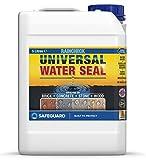 Impermeabilizante Hidrofugante Raincheck - 5L - Sellador transparente impermeabilizante para ladrillo, madera, hormigón y piedra