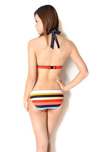 『(ラコステ) LACOSTE スカート付きビキニ水着3点セット sw1399』の3枚目の画像