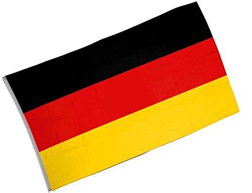 Pavillon Allemagne en tissu 90cm x 150 cm drapeau allemand [1300101]