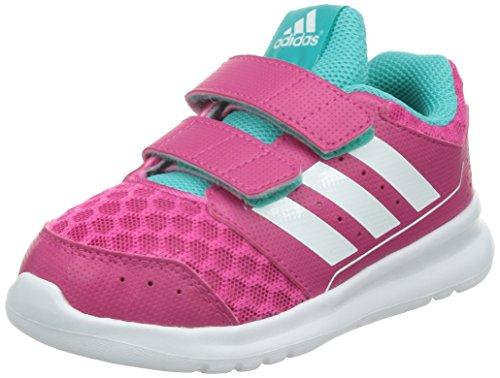 Adidas LK Sport 2 CF I, Zapatos Primeros Pasos Niñas, Eqtpin/Ftwwht/Vivmin, 20