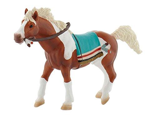 Bullyland 80685 - Spielfigur, Indianerpferd, ca. 15 cm