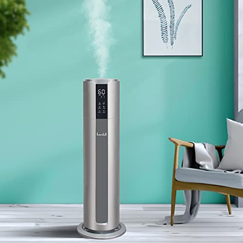 Large Humidifiers for Home Large Room Whole House Top Fill 8L Water Tank,...