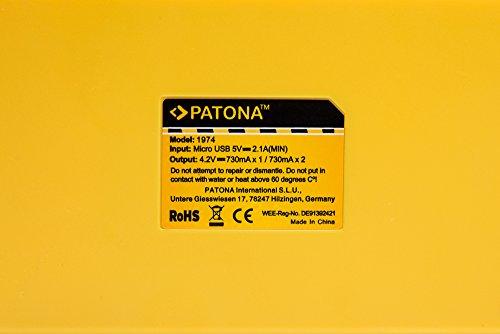 Baxxtar Set - 2X Ersatz für Akku Sony NP-BX1 (echte 1090mAh) und USB Dual Ladegerät - Vlog ZV-1 DSC HX90 HX95 HX99 RX100 WX350 HX400V HDR AS100V FDR X1000 X3000 usw