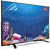 JHZDX Film de protection écran anti lumière bleue/anti-casse/anti-reflet/anti-rayures pour TCL/Samsung/Toshiba/Sony/LG/Hisense 32-75' TV Protégez vos yeux et vous aide à mieux dormir, 86'