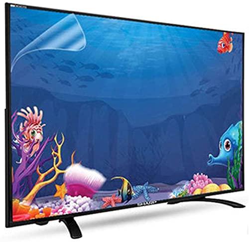 """JHZDX Film de protection écran anti lumière bleue/anti-casse/anti-reflet/anti-rayures pour TCL/Samsung/Toshiba/Sony/LG/Hisense 32-75"""" TV Protégez vos yeux et vous aide à mieux dormir, 55"""""""