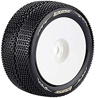 HobbyKing Louise T-Turbo 1/8 Scale Truggy Tires Super Soft Compound / 1/2 Offset / White Rim /