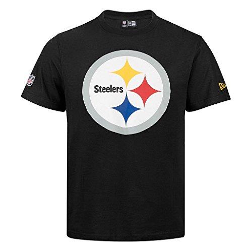 "New Era ""NFL Team Logo Pittsburgh Steelers"" T-Shirt - black - M"