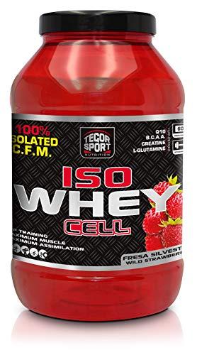 Tegor Sport Iso Whey Cell Evolution Fresa - 1800 gr
