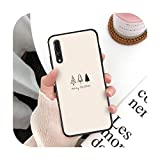 Coque de téléphone Merry Christmas pour Huawei P20 P30 P9 P10 plus P8 lite P9 lite Psmart 2019 P20...
