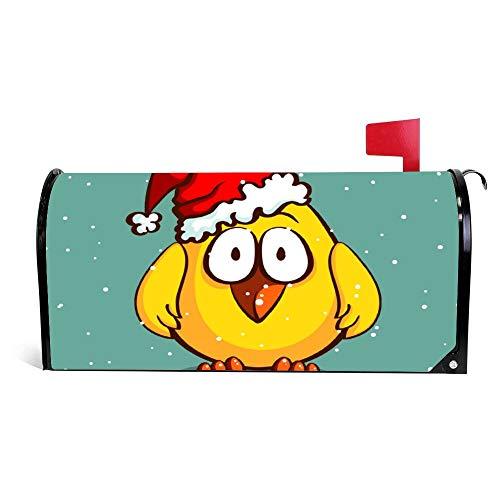 wendana Kerst Kip In Hoed Mailbox Cover Magnetische Vinyl Thuis Tuin Decor Mailbox Wikkel Post Letter Box Cover 18