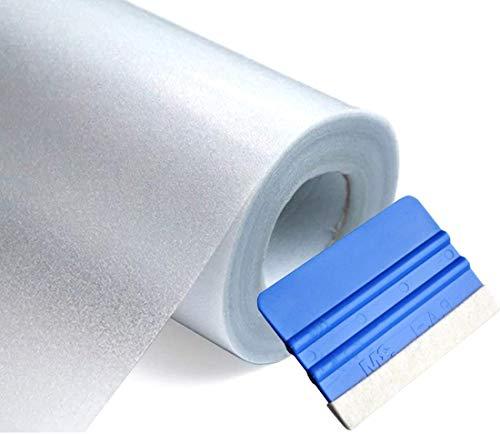 Solar Systems Fensterschutzfolie - Schutzfolie Milchglas - Weiße Fensterfolie - Selbstklebende Folie am Fenster - Gewährleistet Diskretion