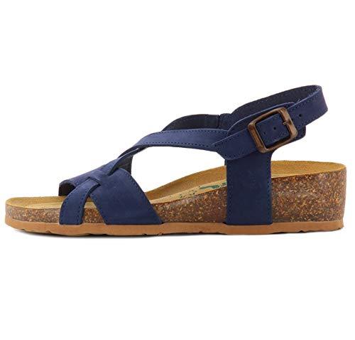 Bionatura Sandalen blau 12 A 826 Imb 37
