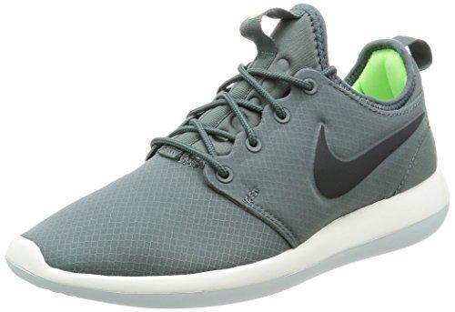Nike 859543-300, Men's Roshe Two SE Sneakers, Multicolor(Hasta/Antharcite-Ghost Green), 10 UK (45 EU)