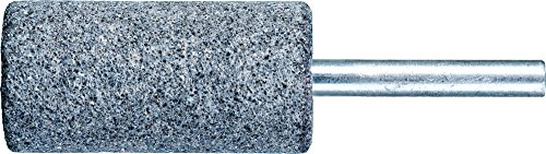 PFERD 34218 Vitrified Bond Mounted Point, Silicon Carbide, Shape W222, 1' Diameter x 2' Length, 1/4' Shank, 15900 RPM, 30 Grit (Pack of 10)