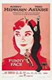 Funny FACE - Audrey Hepburn – Movie Wall Poster Print –