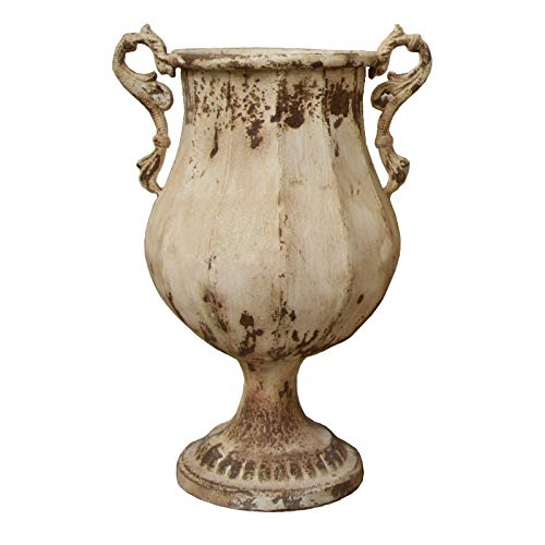 L'ORIGINALE DECO Grande Vasque Pot avec Anse en Fer 45 cm