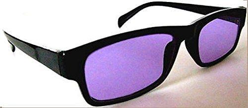 Devardi Glass Didymium Safety Glasses for Lampwork, Beadmaking, Black PT-1