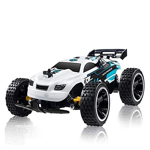 Coche de control remoto para niños, Relación de simulación de juguete 1:18 Racing de velocidad Regalo de cumpleaños para adultos de carreras de velocidad, alta caída y alta batería, pasatiempos de niñ