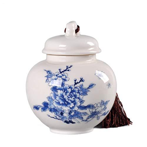 XGYUII Urna de cremación de porcelana