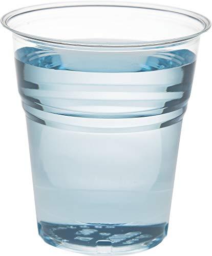 Bicchieri Trasparenti CC.166 per Acqua e bibite in Polipropilene USA e Getta - Confezione 30 x 100 Pezzi