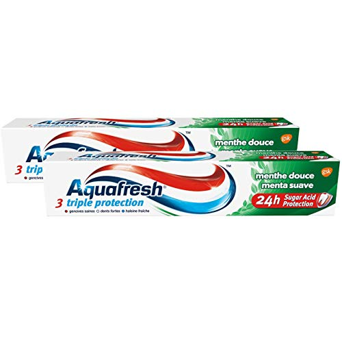 Aquafresh, 2 x Dentifrices Triple Protection,...
