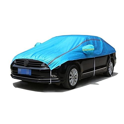 Cubierta del parabrisas de la cubierta del automóvil protege la privacidad de los vehículos, espesando la cubierta del espejo de la capucha del coche a prueba de agua, compatible con Volkswagen Magota