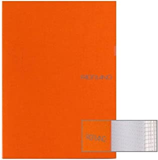 Ecoqua Dot Notebook 5.8X8.25 Orange